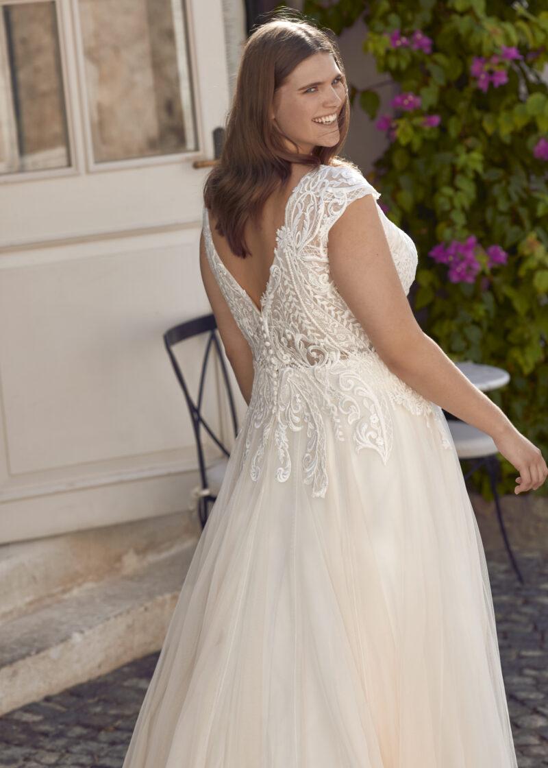 Modeca - Purity Brautkleid Rückansicht 1