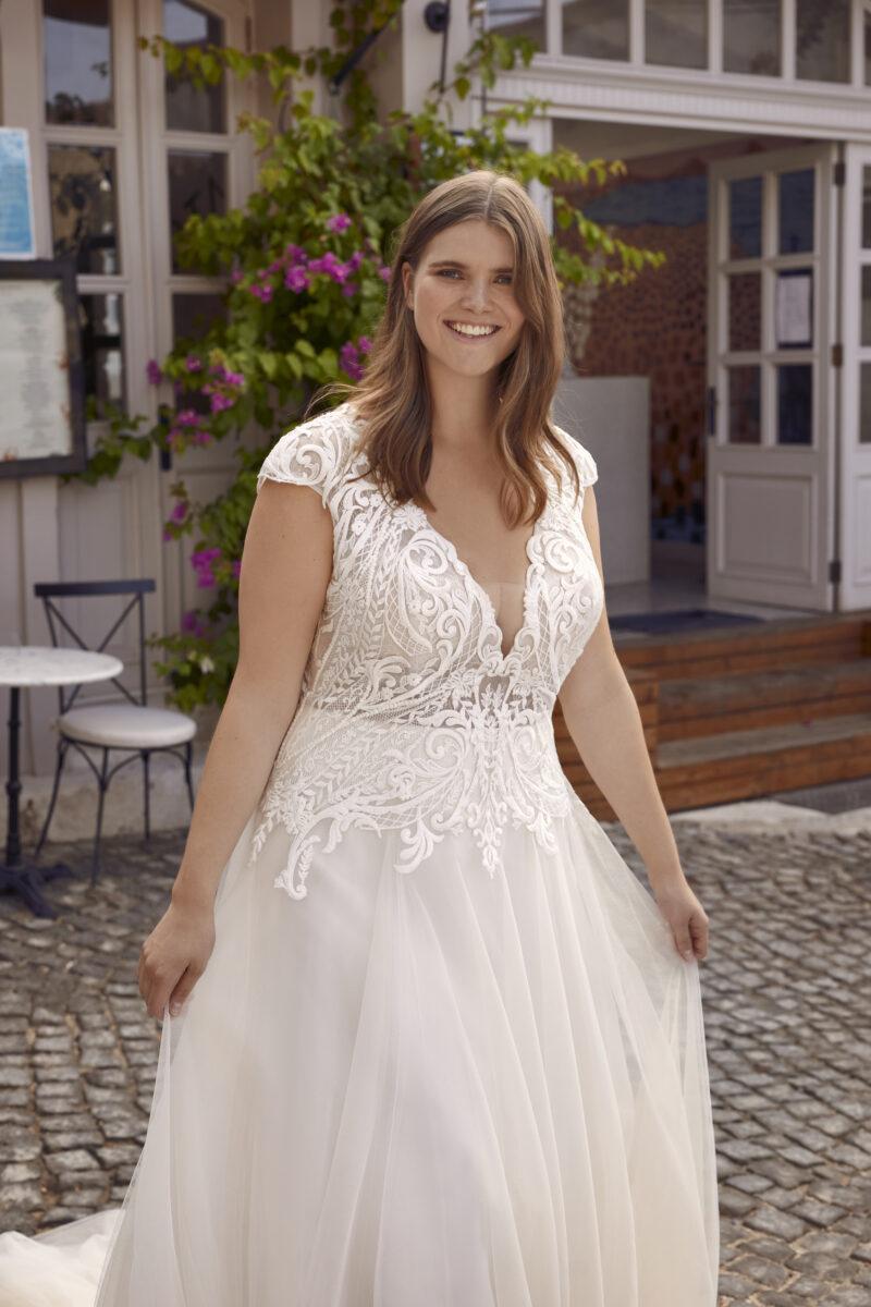 Modeca - Purity Brautkleid Vorderansicht 4