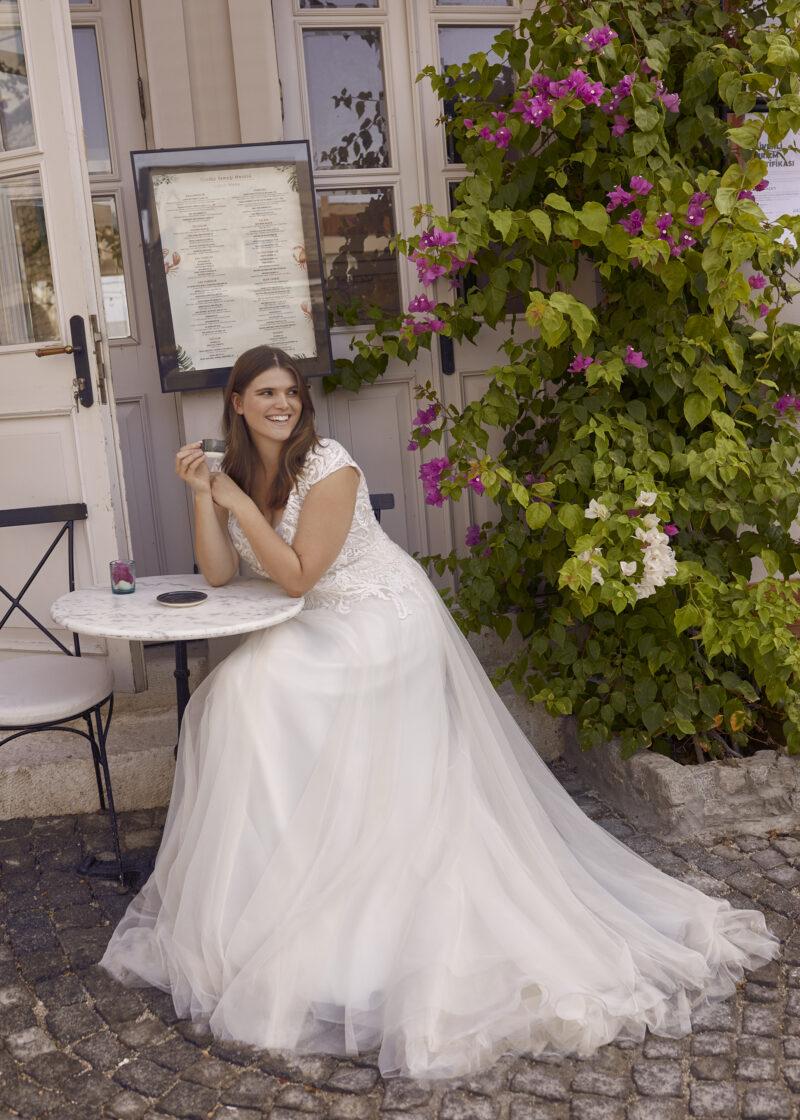 Modeca - Purity Brautkleid Vorderansicht 3