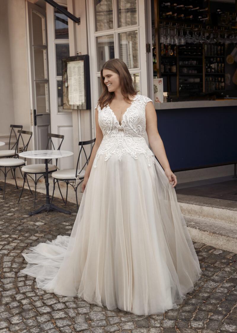 Modeca - Purity Brautkleid Vorderansicht 2