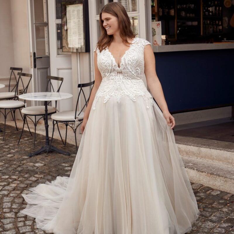 Modeca - Purity Brautkleid Vorderansicht 1