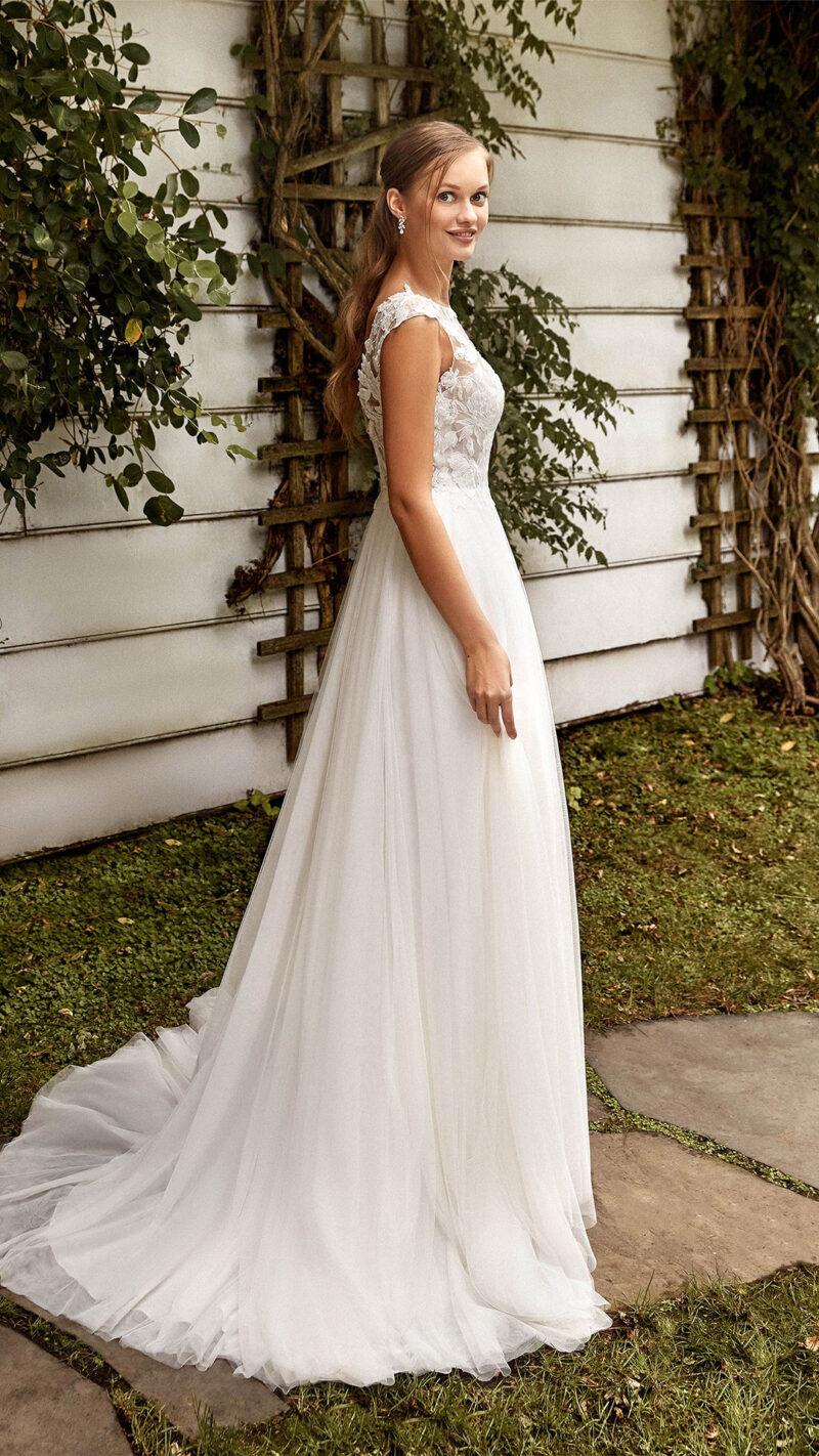 Sincerity - 44272 Brautkleid Rückansicht 1