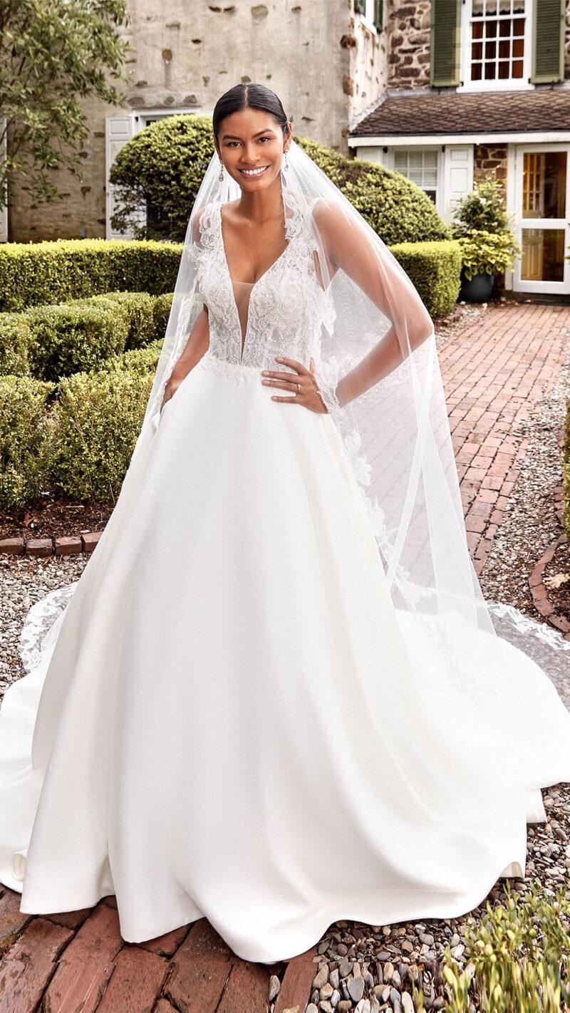 Sincerity - 44276 Brautkleid Vordernansicht 1